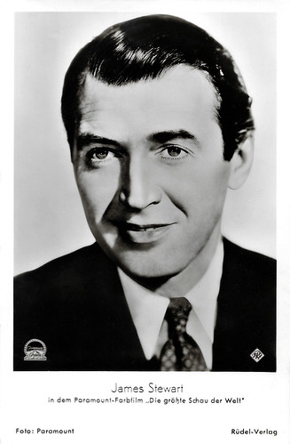 James Stewart in The Greatest Show on Earth (1952)