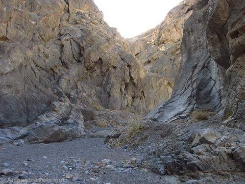 Grotto Canyon above the grotto, Death Valley National Park, California