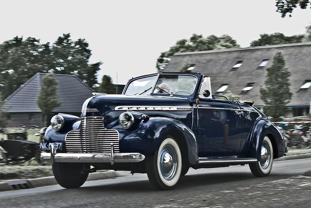 Chevrolet Special DeLuxe Convertible 1940 (9332)
