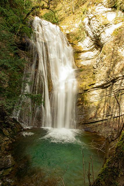 cascade d'Aloix