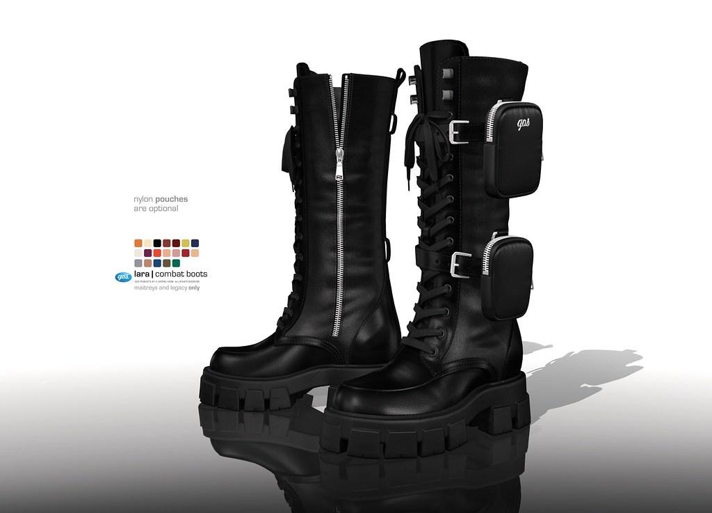 Lara Combat Boots