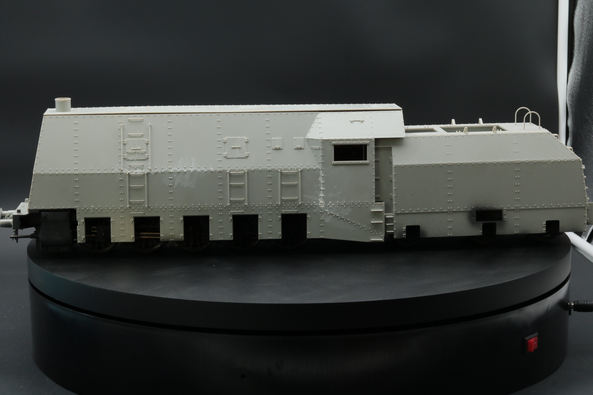 BP42 locomotive avec blindage