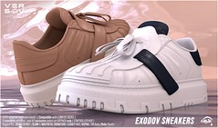 [ Versov // ] EXODOV sneakers available at UBER event
