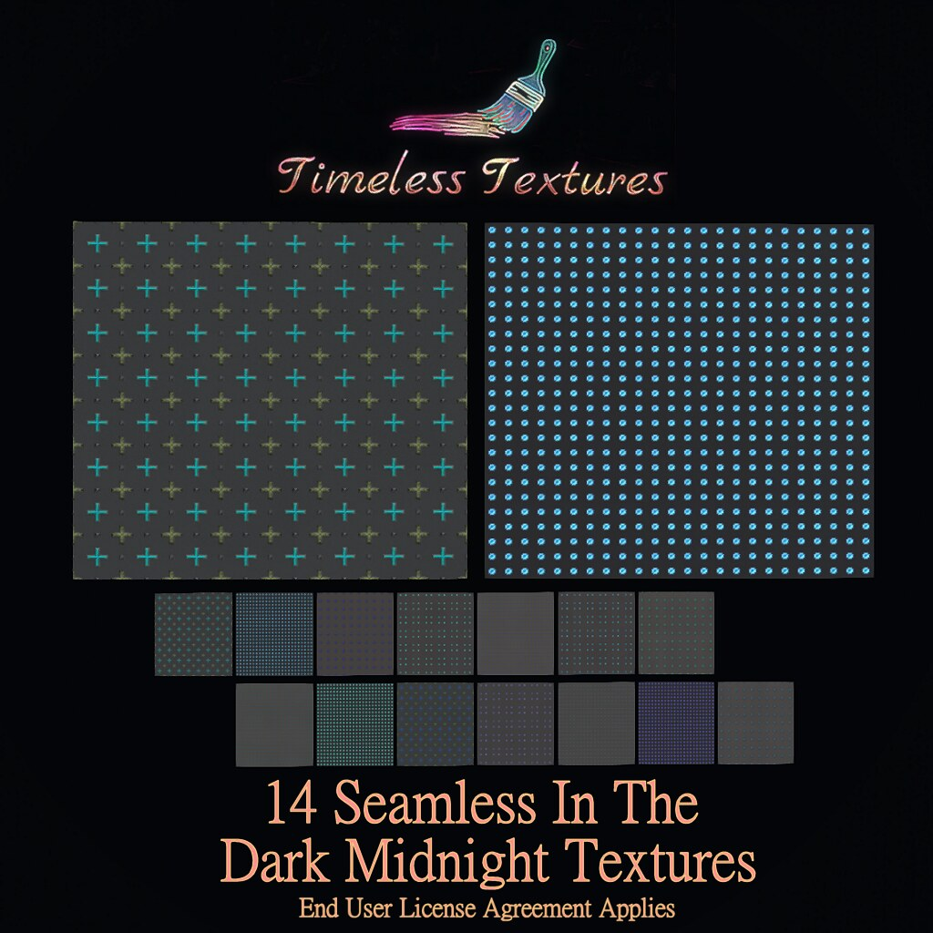 TT 14 Seamless In The Dark Midnight Timeless Textures
