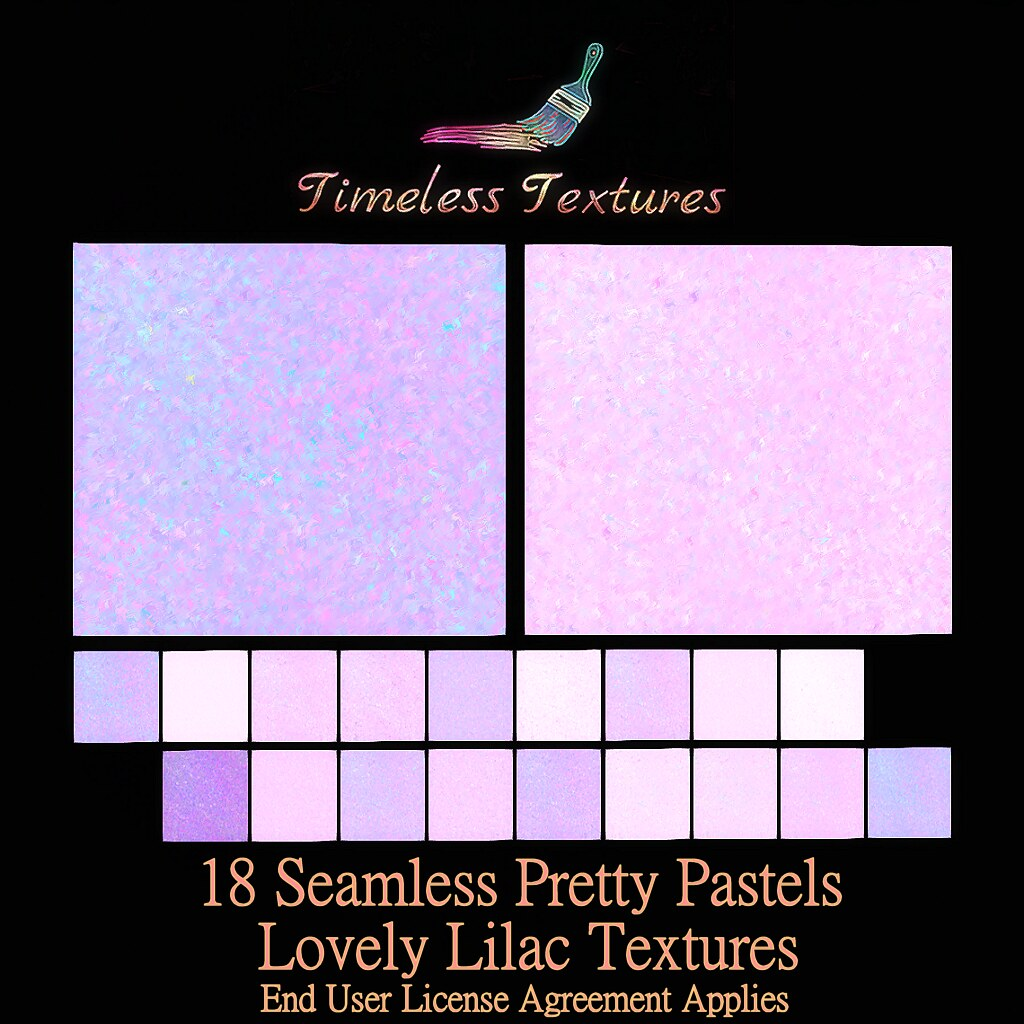 TT 18 Seamless Pretty Pastels Lovely Lilac Timeless Textures