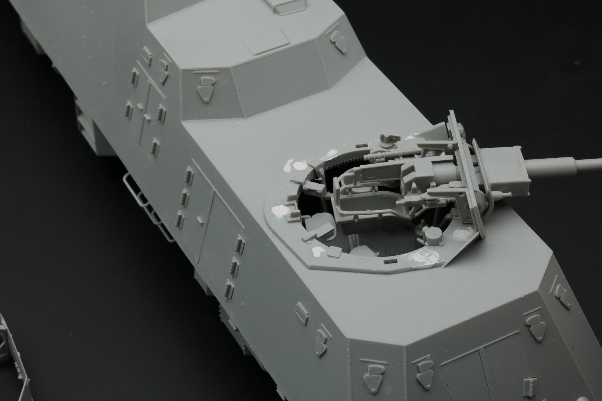 BP42 détail tourelle panzer 4