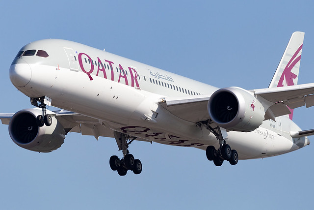 A7-BHB Qatar Airways B787-9 Dreamliner London Heathrow
