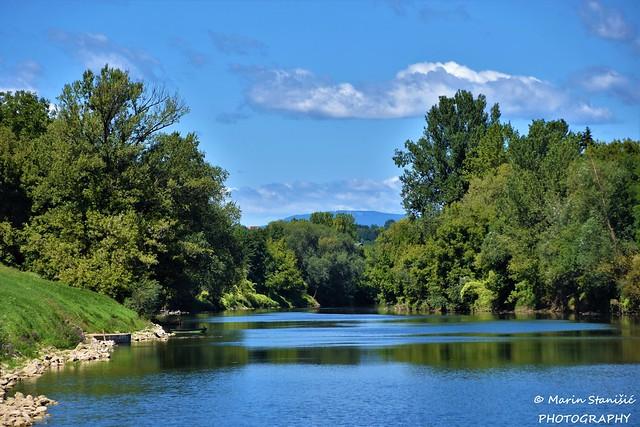 Beautiful river Kupa - Karlovac, Croatia