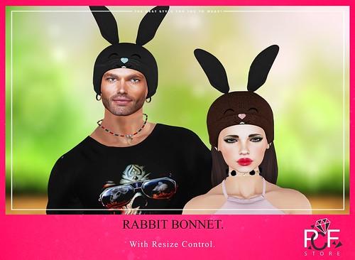 ::PCF:: RABBIT BONNET EASTER.