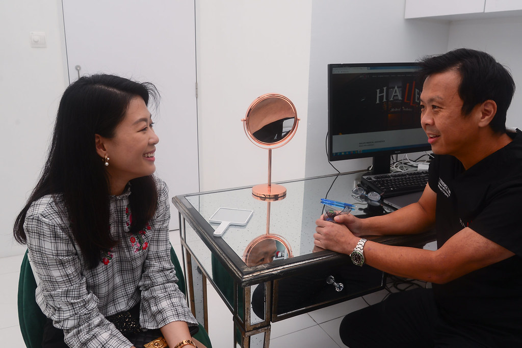Consultation with Dr. Terence Tan at Halley Medical Aesthetics