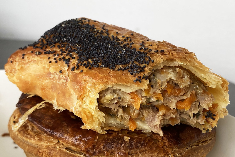 Sausage roll: K'pané Artisan Bakery