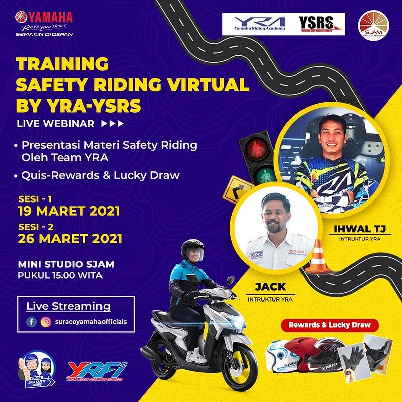 Training Safety Riding Virtual