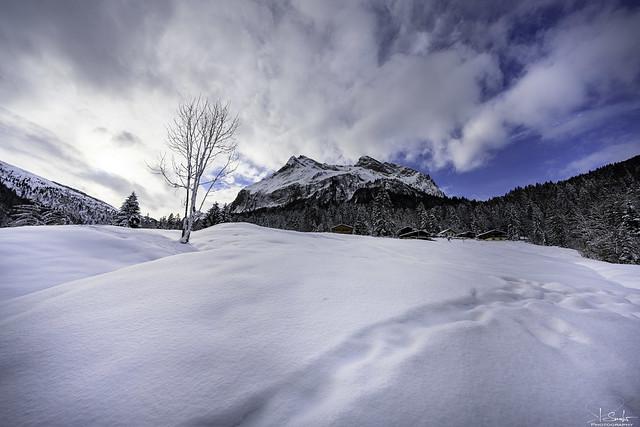 Winter hiking around Wägitalersee - Innerthal - Schwyz - Switzerland