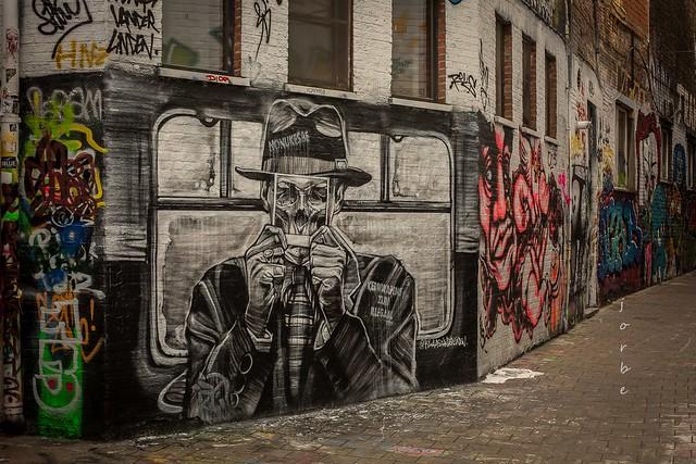 street art in Gent  V