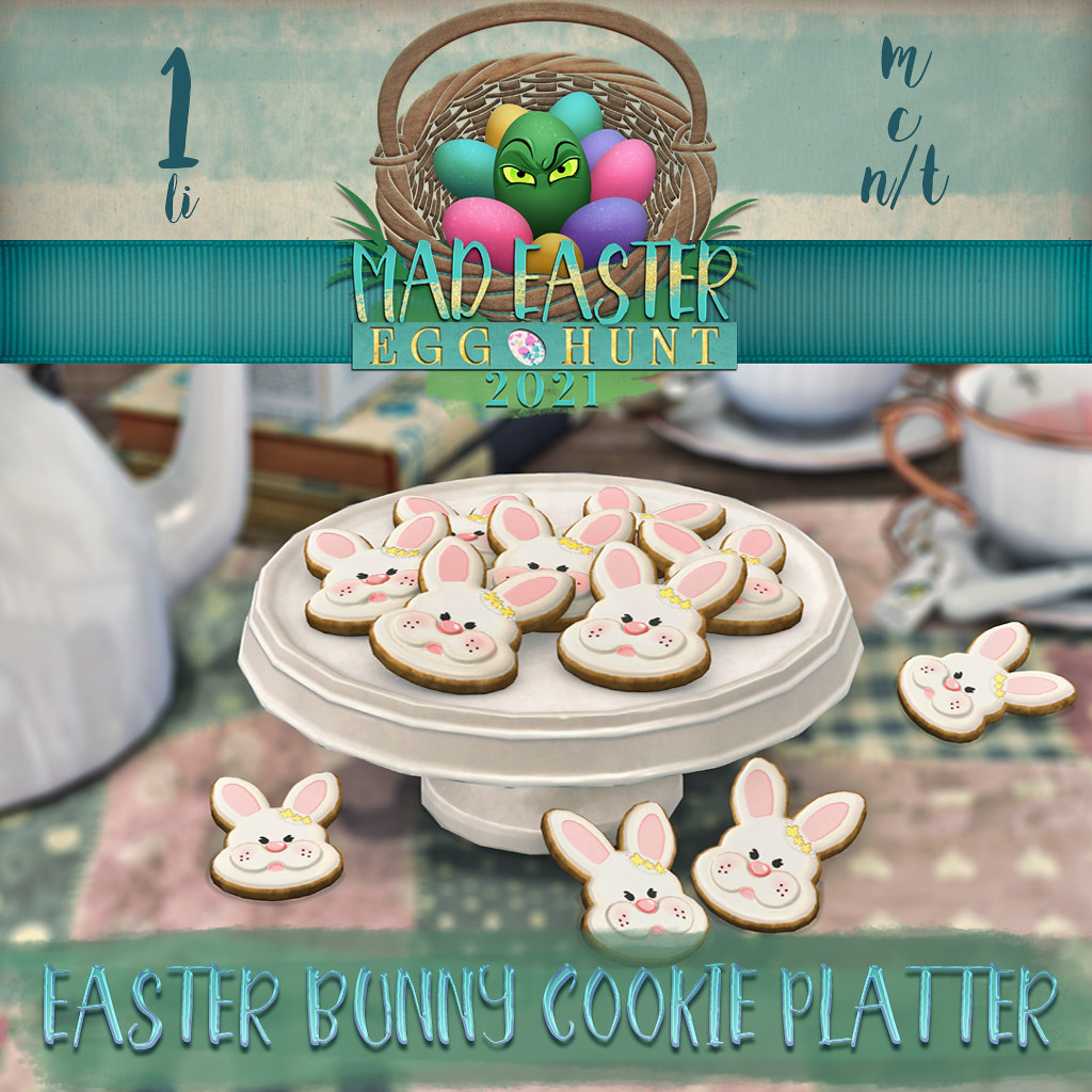 Easter Hunt Prize Reveal: Bunny Cookies