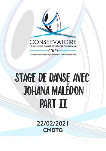 Stage de danse avec Johana MALEDON - Part 2 (22/02/2021)