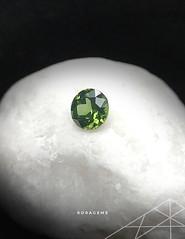 Green Zircon Gem