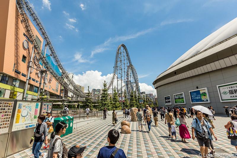 De paseo por Tokyo Dome City