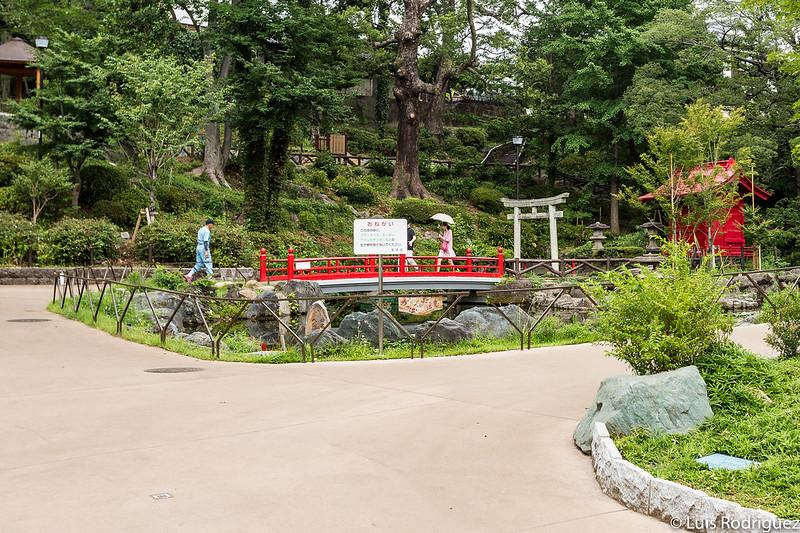 Parque Sudo cerca de la cuesta Dango-zaka