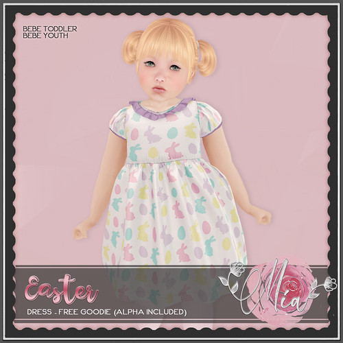 Mia Easter Dress Ad - Free Group Goodie