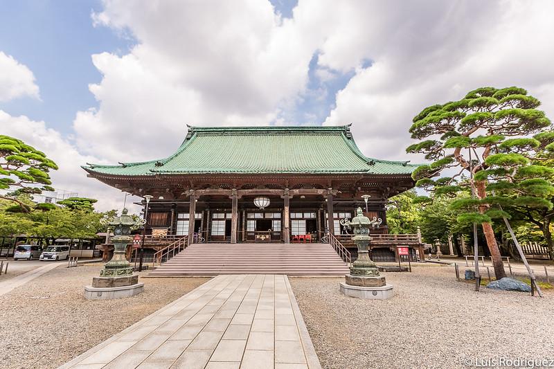 Salón principal del templo Gotokuji