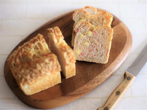 ベーコンチーズの雑穀パン 20210323-IMG_3426 (3)