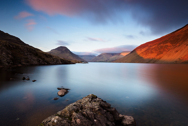 Wastwater afternoon light