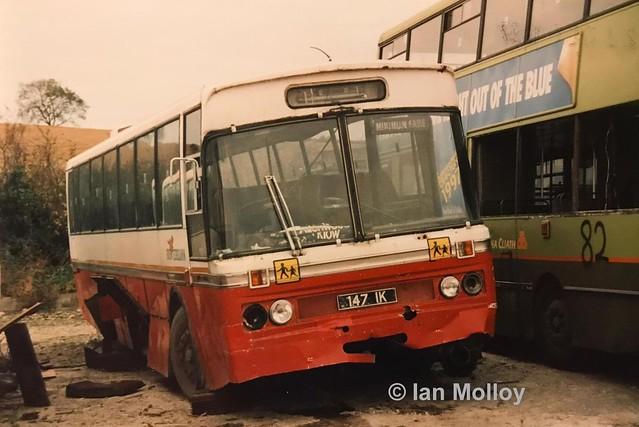Bus Éireann MGS147 (147IK).
