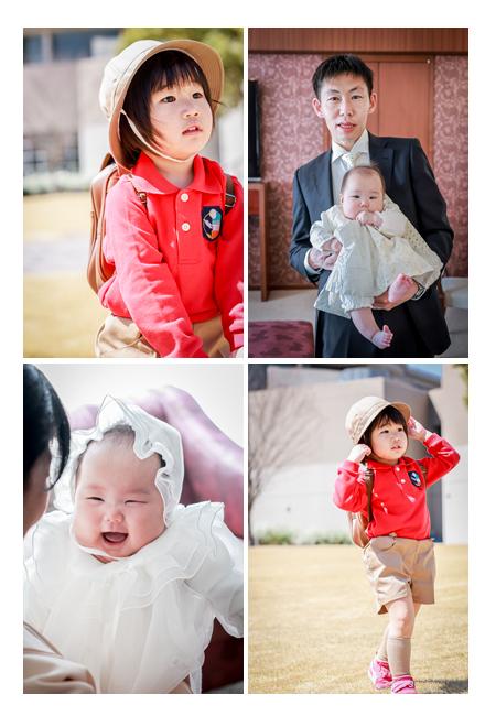 100日祝いと幼稚園入園記念の出張撮影