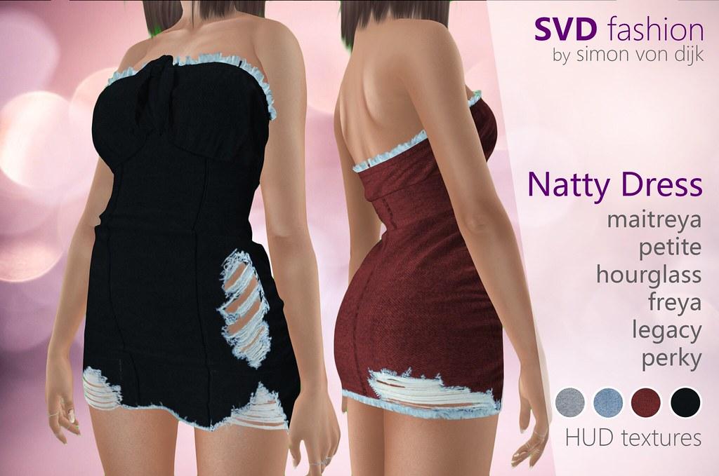SVD – Natty Dress / denim version | maitreya | petite | hourglass | freya | legacy | perky