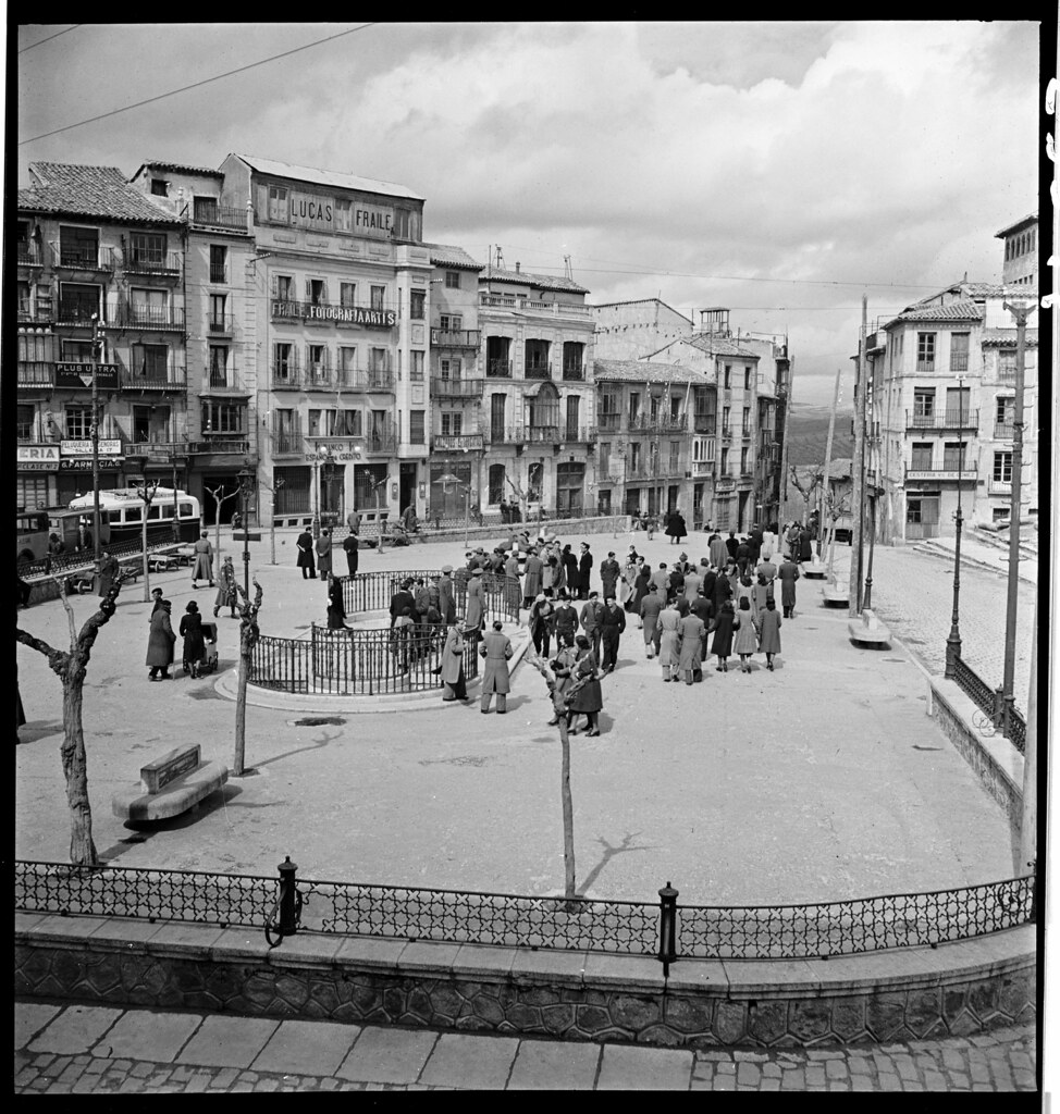 Toledo en 1941. Fotografía de Thérèse Bonney © The Bancroft Library, University of California, Berkeley