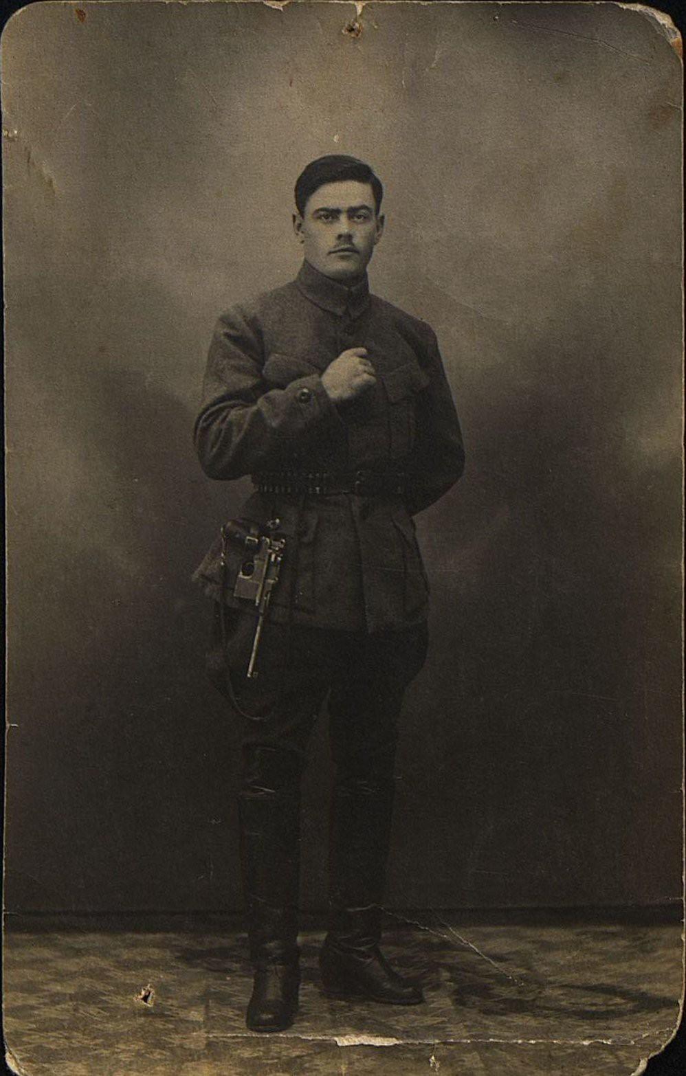 1921-1922. Семикоровкин Иван Николаевич, особо уполномоченный по борьбе с контрреволюцией на Дальнем Востоке. Хабаровск