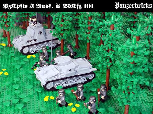 Panzer I SdKfz 101 Ausf B de Panzerbricks