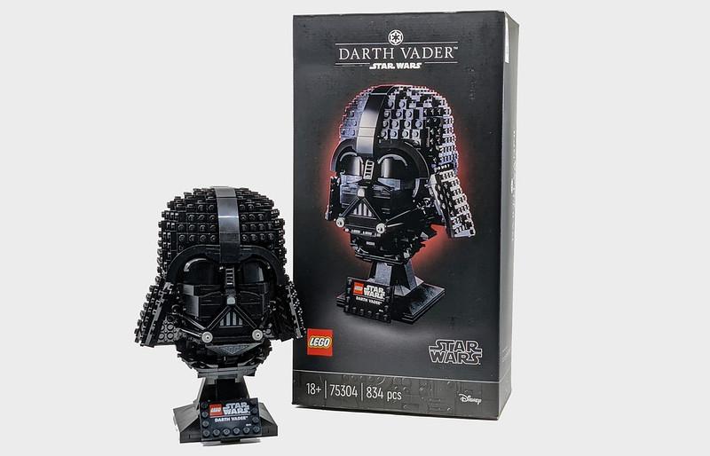 75304: Darth Vader Helmet Set Review