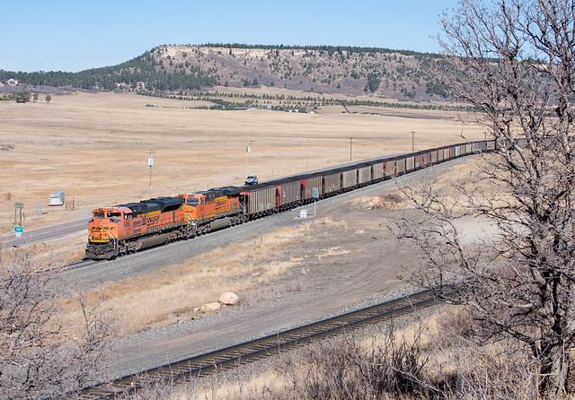 BNSF 9080 Palmer Lake, CO
