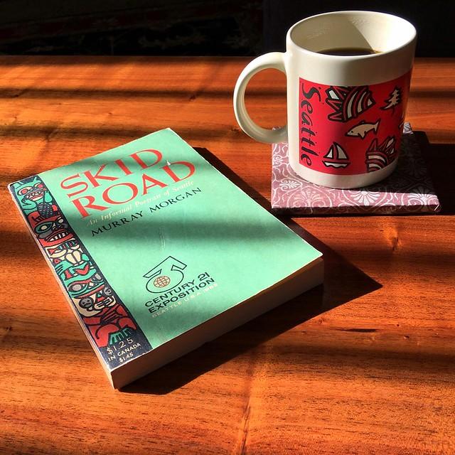 book & coffee
