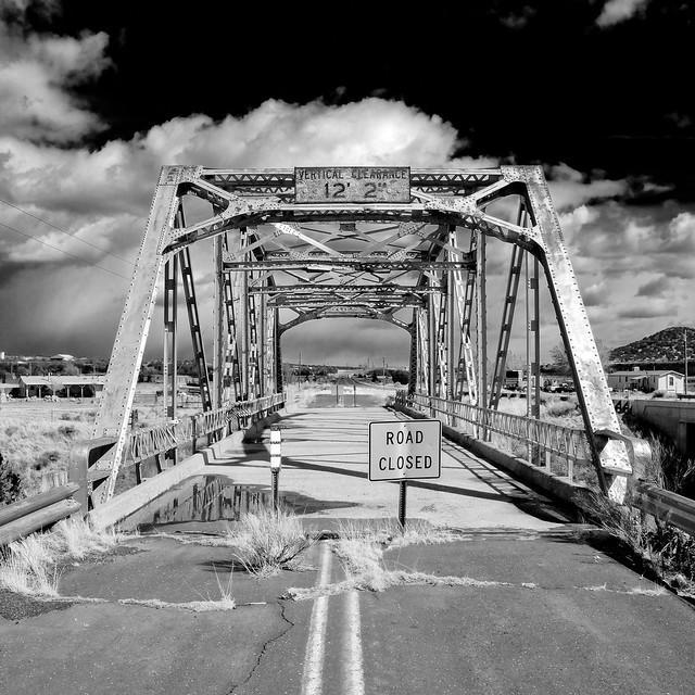 walnut canyon bridge / route 66. winona, az. 2007.
