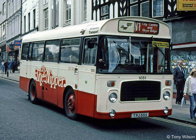 TPJ55S South Yorkshire Transport 1051