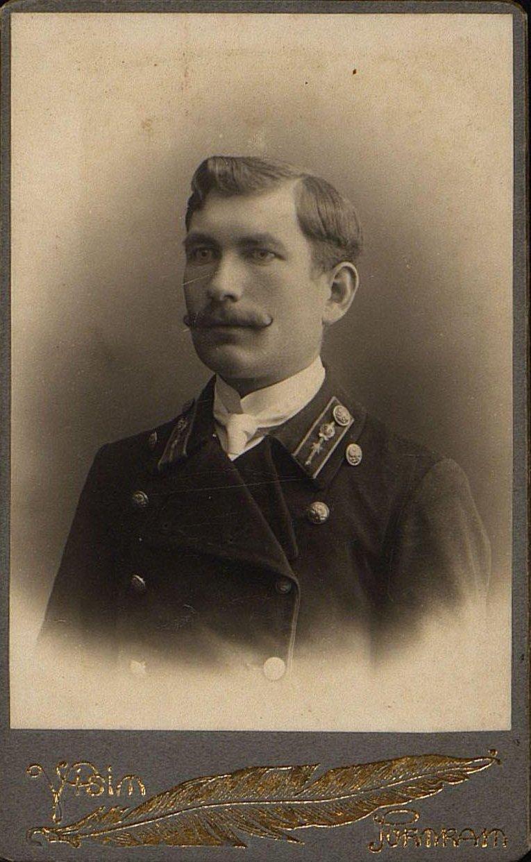19. Бочкарёв Иван, служащий Хабаровского казначейства. 1915