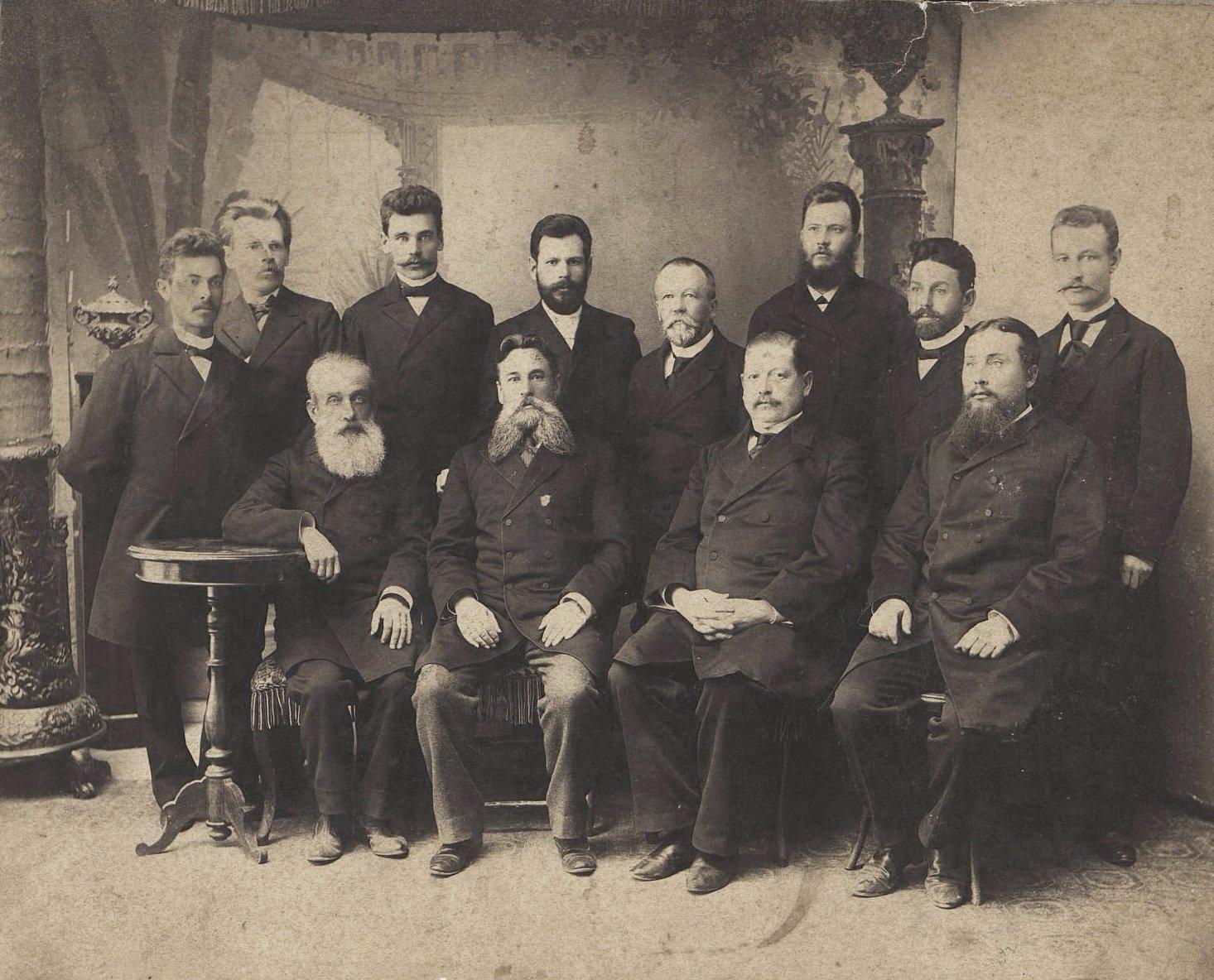 02. Чиновники Амурской контрольной палаты. 1899