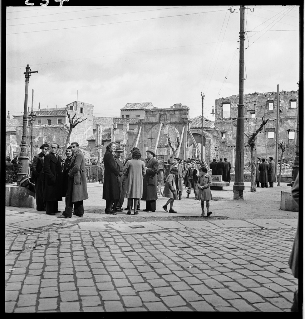 Toledo en 1941. Fotografía de Thérèse Bonney © The Bancroft Library, University of California, Berkeley