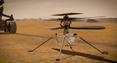 Ingenuity si sta preparando al suo primo volo su Marte