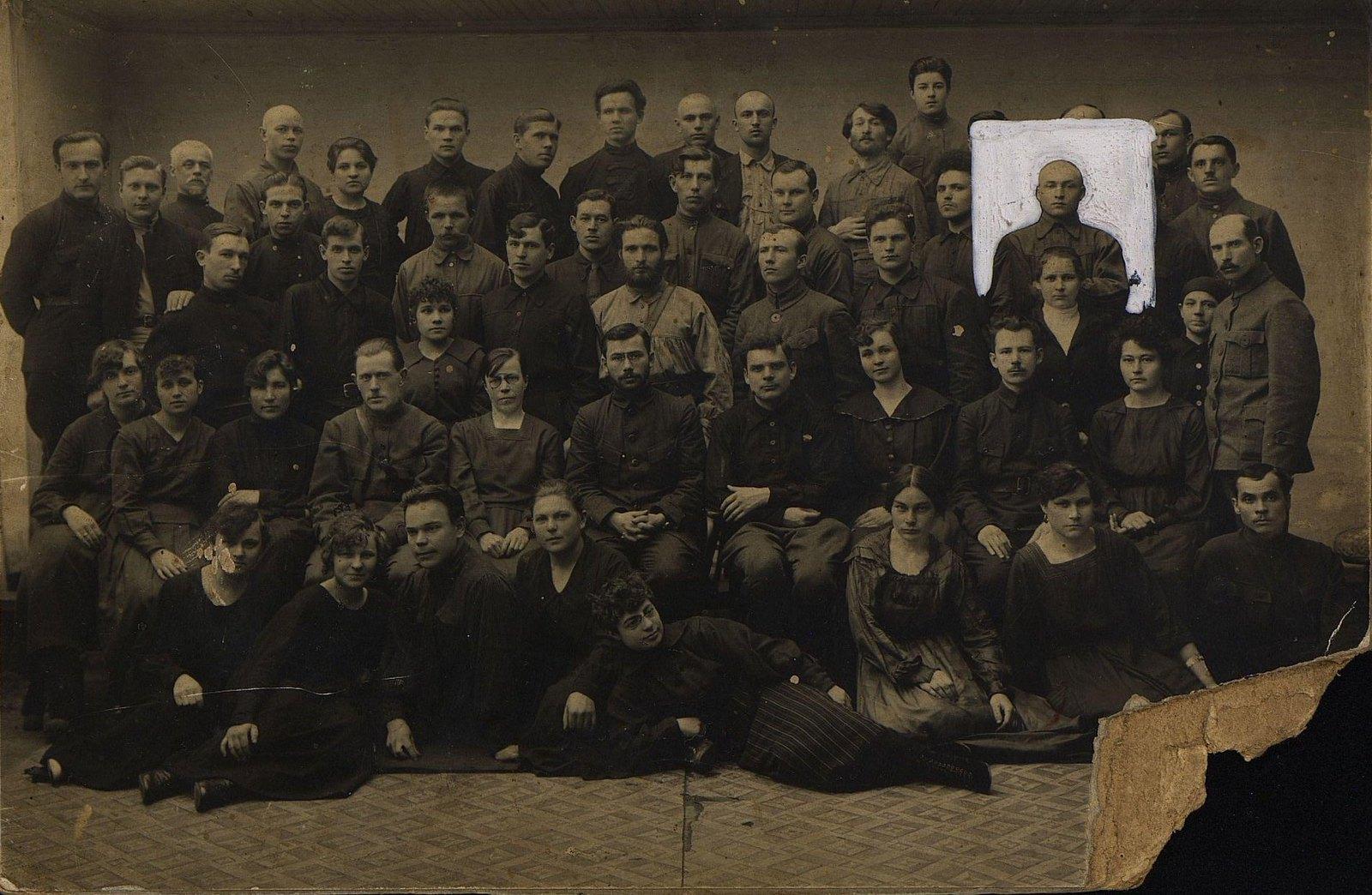 1923-1924. Сотрудники Амурского ОГПУ. Благовещенск
