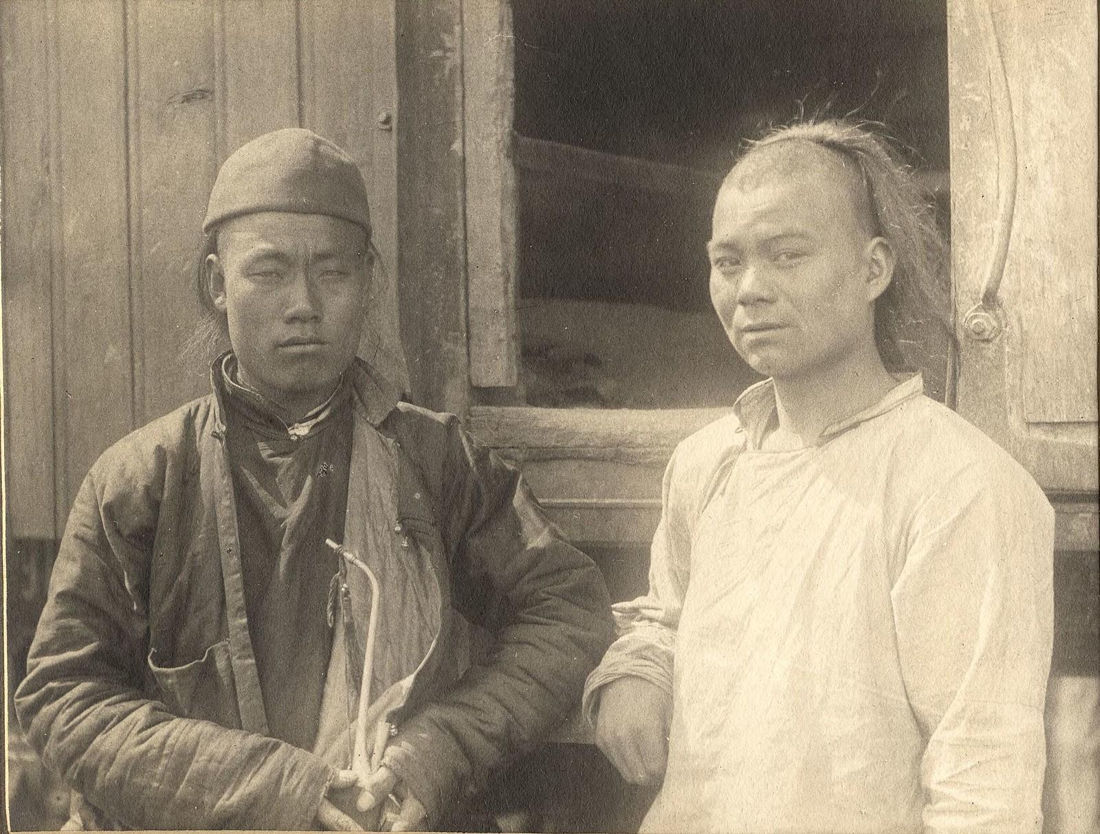Типы китайских рабочих (маньчжуров)
