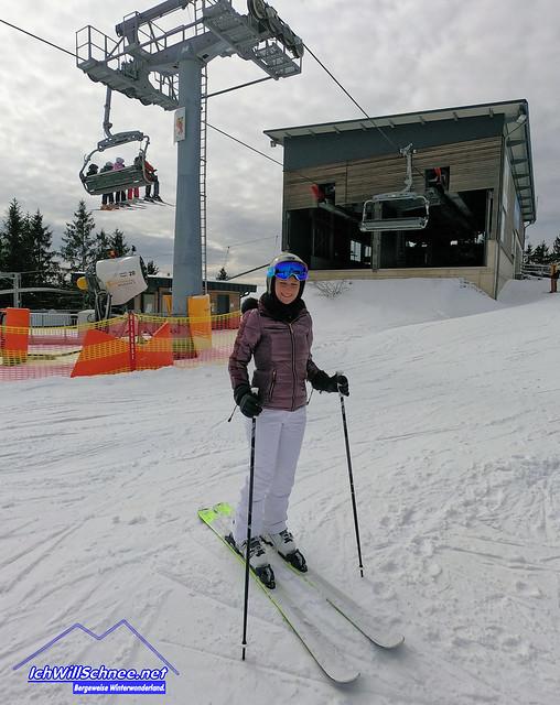 Märzwinter im Skiliftkarussell, 03/2021.