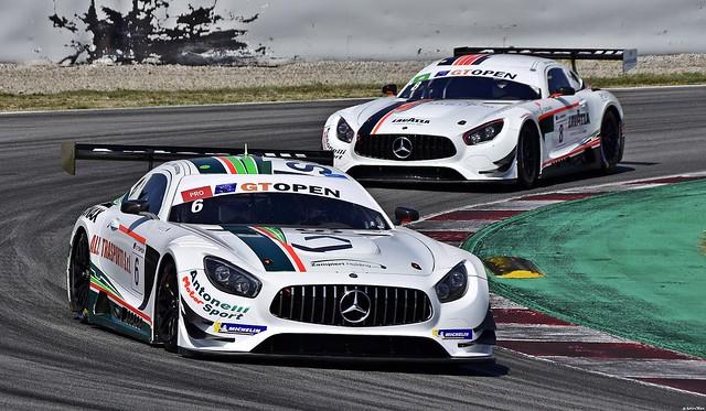Mercedes AMG GT3 / Daniel Zampieri  / ITA / Loris Spinelli / ITA / Antonelli MotorSport