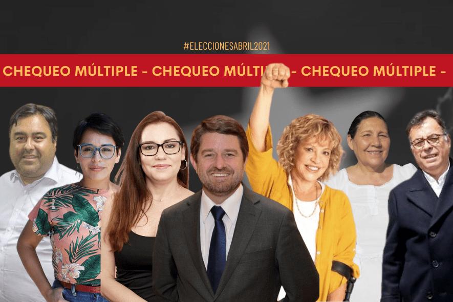 Chequeo múltiple: Propuestas de las y los candidatos a la gobernación de la R. Metropolitana