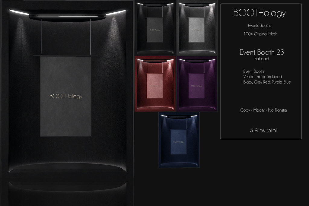 Bothology - Event Booth 23 AD - Beauty Event