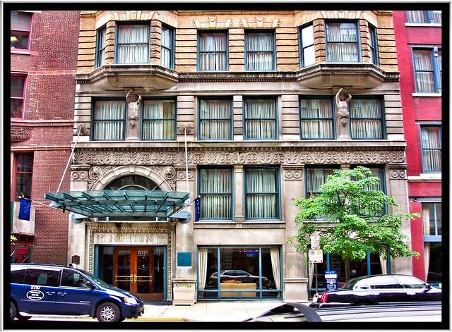 Chicago Il ~ Wyndham Blake Hotel - Morton Building ~ Printers Row District