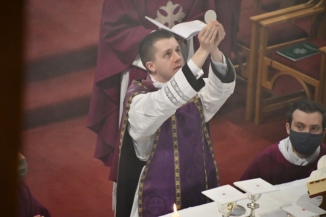 Fr Andrew Coy First Mass